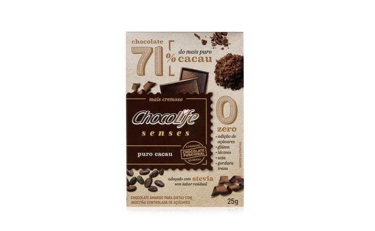 Chocolife Senses Kakao Murni untuk R $ 6.40 di natue