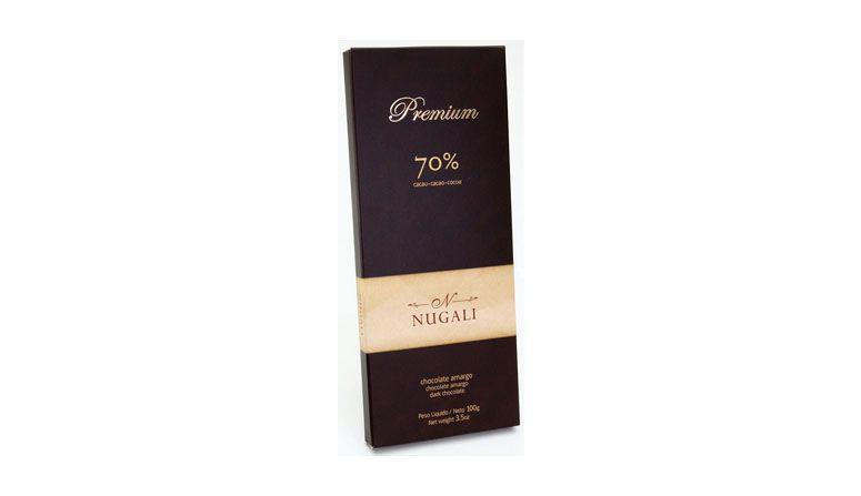 Nugali dark chocolate oleh R $ 9,00 di Nugali