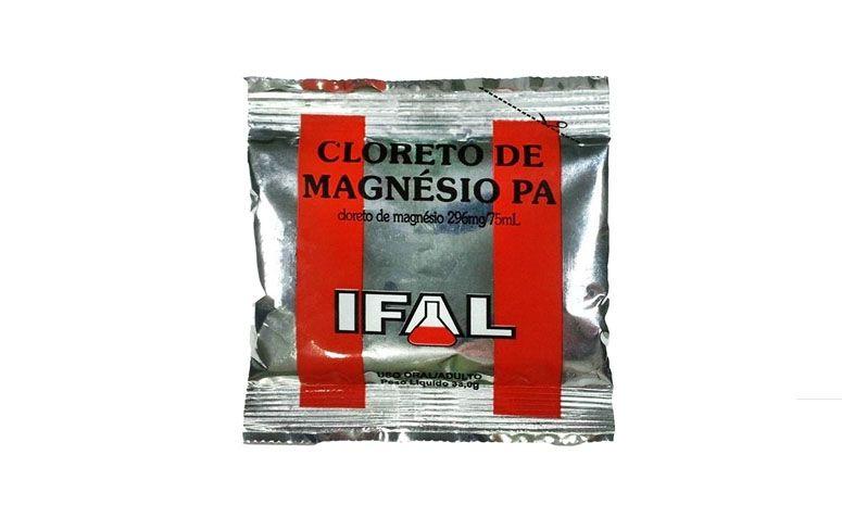"""Cloreto de magnésio em pó Ifal por R$4,28 na <a href=""""http://www.dietacrua.com.br/cloreto-de-magnesio-pa-em-po-33g-ifal-p128/"""" target=""""blank_"""">Dieta Crua</a>"""