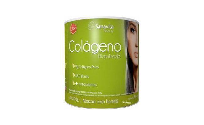 Colágeno hidrolisado (300g) abacaxi com hortelã Sanavita por R$52,90 na Mais Vitaminas