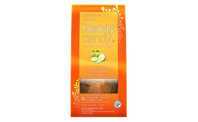 Bala Vitaminada Beauty Candy de Limão, Colágeno e Vitaminas (150g) Beauty'In por R$26,91 no Submarino