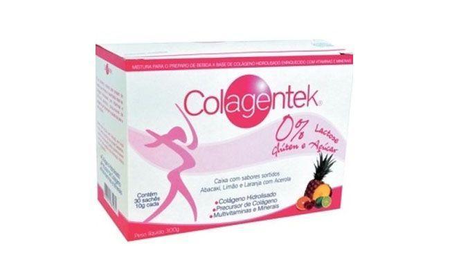 Colagentek Colágeno Hidrolisado Vitafor (30 sachês) por R$46,80 na Corpo e Vida Shop