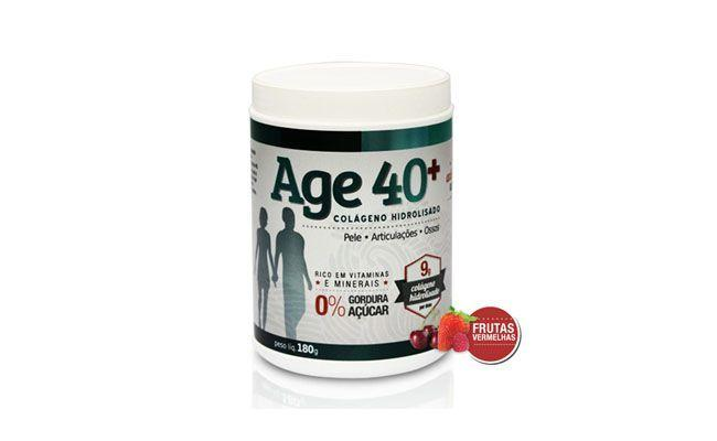 Suplemento de Colágeno Hidrolisado (180g) Bionetic Age 40+ Frutas Vermelhas por R$49,90 na Dafiti