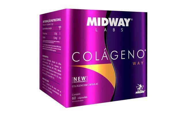 Colágeno Way MidWay (60 cápsulas) por R$24,90 na Corpo Perfeito