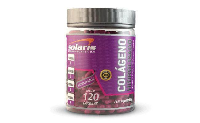 Colágeno Hidrolisado Solaris Nutrition (120 cápsulas) por R$39,80 na Corpo Perfeito