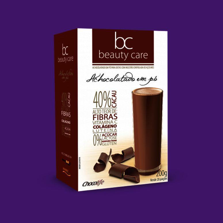Choklad skönhetsvård med kollagen / R $ 41,90 i Viva Zero
