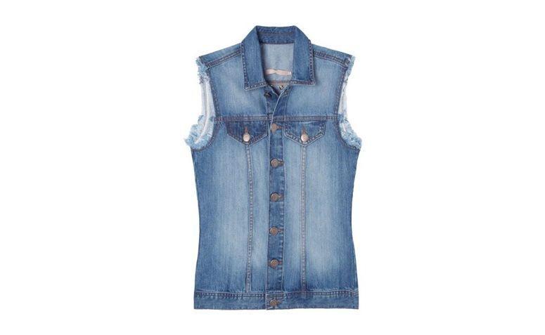 "Colete jeans por R$349,00 na <a href=""https://www.oqvestir.com.br/colete-jeans-desfiado-azul.html"" rel=""nofollow"" target=""blank_"">Oqvestir</a>"