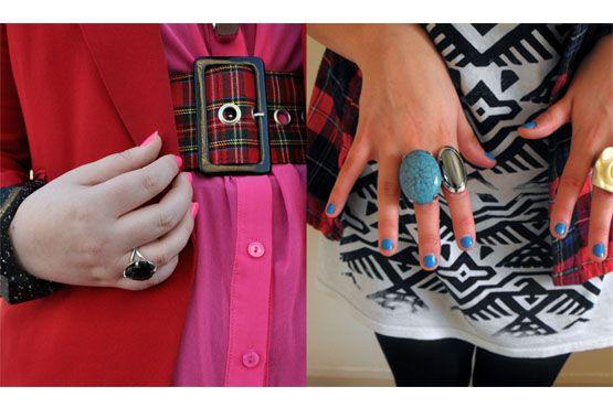 2 Como combinar as roupas com a cor e o estilo do esmalte
