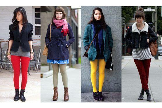 Mulheres de pernas grossas ou acima do peso devem evitar as cores claras. Opte por tons escuros para alongar a silhueta.