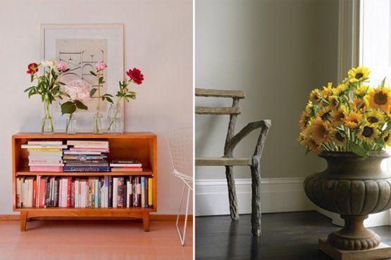 decoracao com flores3 Como decorar a casa com flores