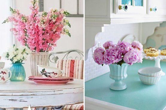 decoracao com flores6 0 Como decorar a casa com flores