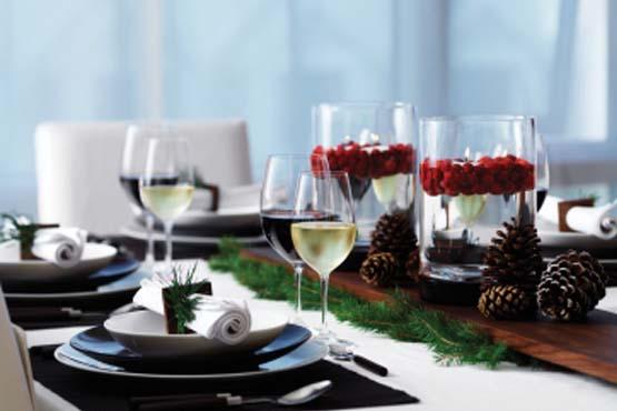 decoracao mesa natal 03 Como decorar a mesa para o Natal