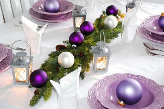 decoracao mesa natal 06 Como decorar a mesa para o Natal