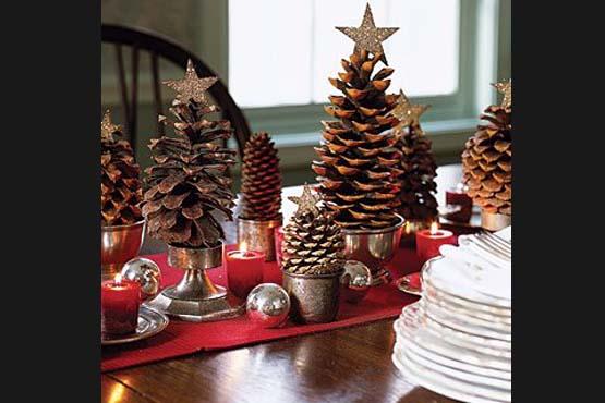 decoracao mesa natal 07 Como decorar a mesa para o Natal