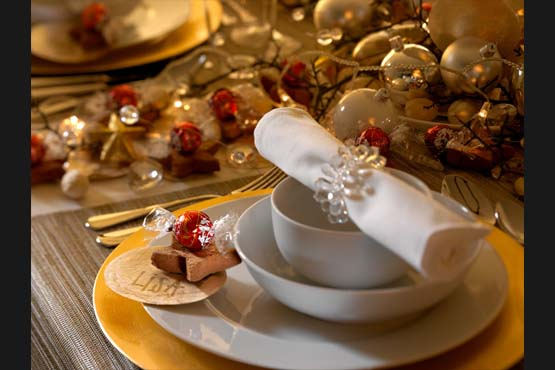 decoracao natal 14 Como decorar a mesa para o Natal