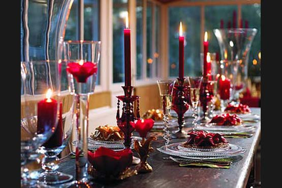 decoracao natal 25 Como decorar a mesa para o Natal