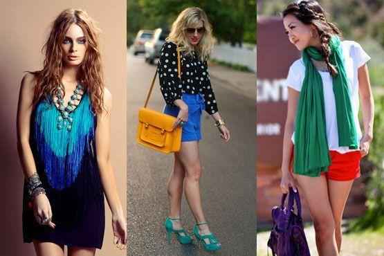 color blocking verao13 Como usar color blocking no verão