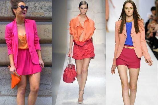 color blocking verao3 Como usar color blocking no verão
