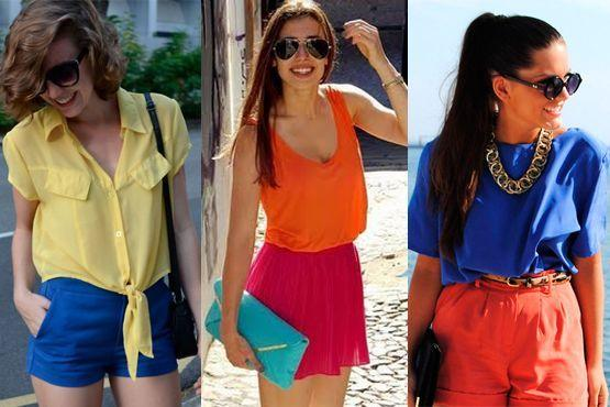 color blocking verao8 Como usar color blocking no verão