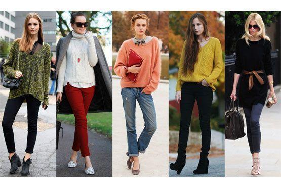 5 Como usar suéter