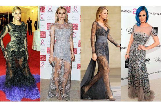 Beyoncé, Diane Kruger, Blake Lively e Katy Perry.