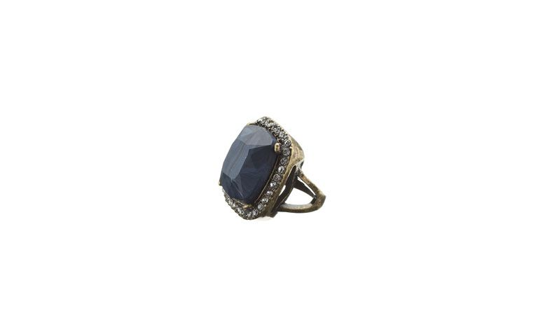 harzig blauer Stein-Ring für R $ 79 bei Accessorize
