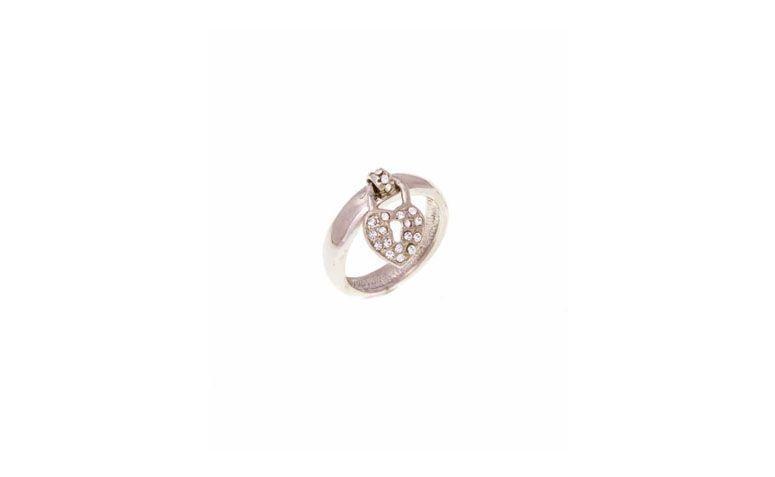 Lilac üzerinde 35 $ için kalp kolye ile küçük bir halka