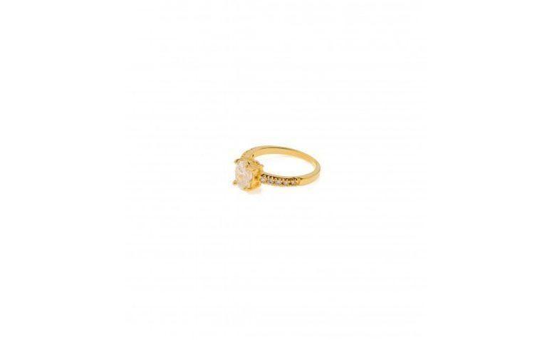 """Anel banhado a ouro com zircônia por R$49 na <a href=""""http://myglossacessorios.com.br/lojaonline/anel-pedra-cristal.html"""" target=""""_blank"""">My Gloss Acessórios</a>"""