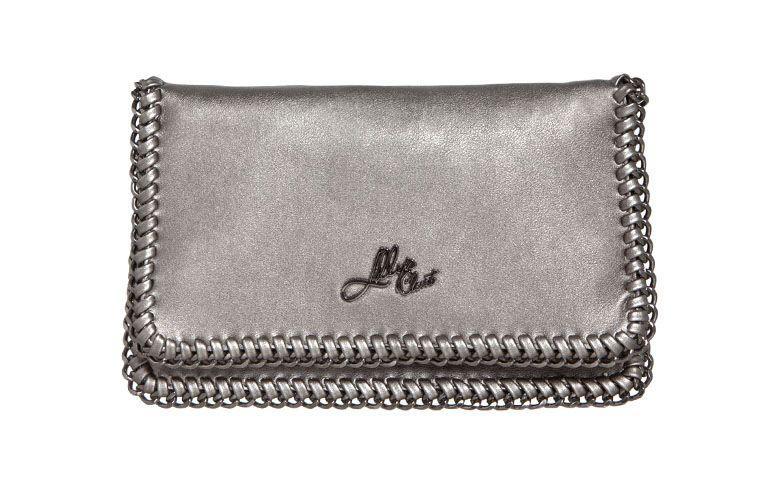 Bag dark pewter silver Lilly's Closet by R $ 134.99 in Dafiti