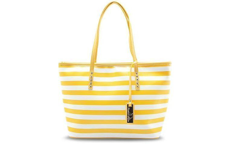 Bag yellow stripes Madame Marie for R $ 179.99 in Anita