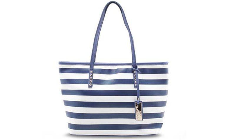 Bag blue stripes Madame Marie for R $ 179.99 in Anita