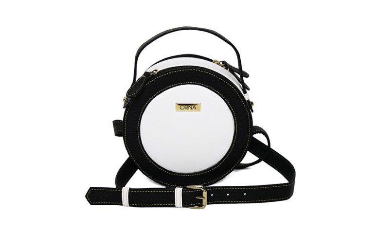 Bag black and white tarumã Orna for R $ 580.00 in Orna