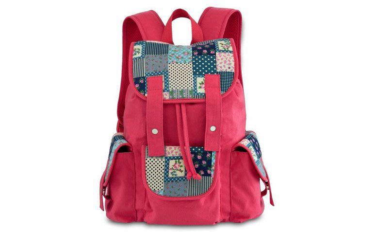 """Mochila rosa Pallas por R$119,90 na <a href=""""http://www.ellastore.com.br/bolsas-femininas/pallas/bolsa-mochila-pallas-pl2175-rosa"""" target=""""_blank"""">Ella Store</a>"""