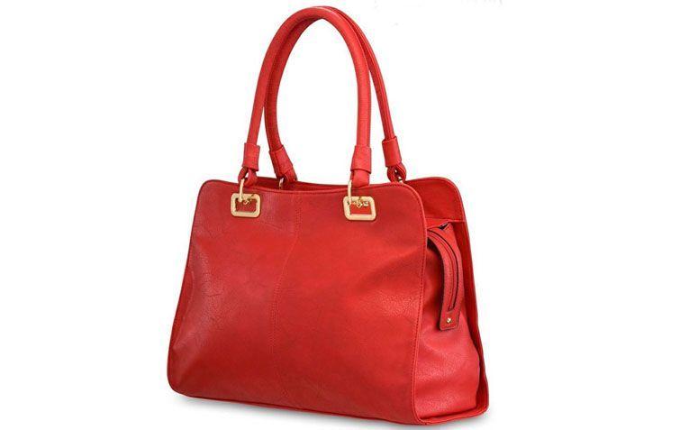 """Bolsa vermelha Pallas por R$118,60 na <a href=""""http://www.ellastore.com.br/bolsas-femininas/pallas/bolsa-pallas-vermelho-pl2014"""" target=""""_blank"""">Ella Store</a>"""
