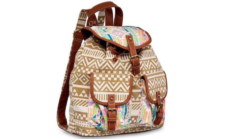 Pallas brown backpack by R $ 109.31 in Ella Store