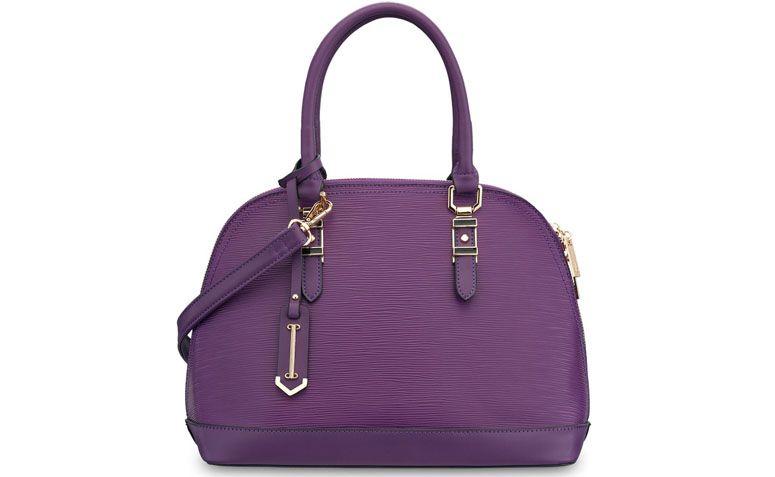 Dark lilac handbag Pallas for R $ 149.90 in Ella Store