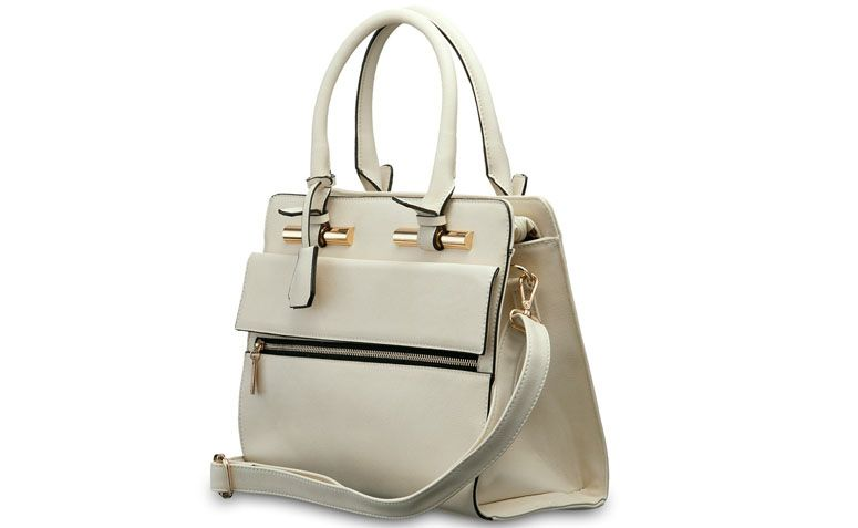 "Bolsa marfim Pallas por R$149,90 na <a href=""http://www.ellastore.com.br/bolsas-femininas/pallas/bolsa-pallas-pl2109-marfim"" target=""_blank"">Ella Store</a>"