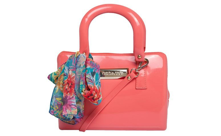coral bag with scarf Petite Jolie for R $ 109,99 in Dafiti