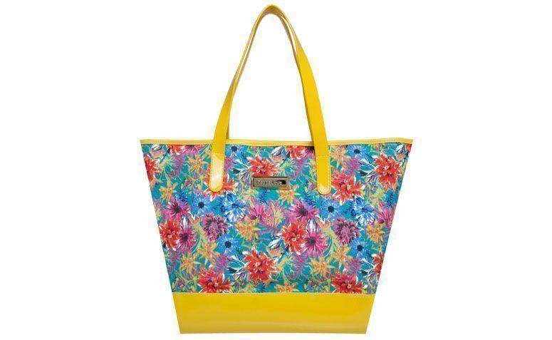 Bag yellow flowers Jolie Petite by R $ 89.99 in Dafiti
