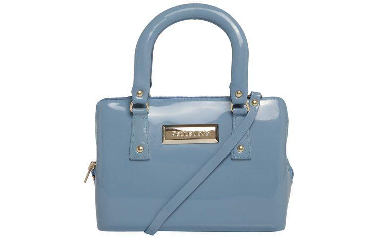 smooth blue bag Petite Jolie for $ 99.99 in Dafiti