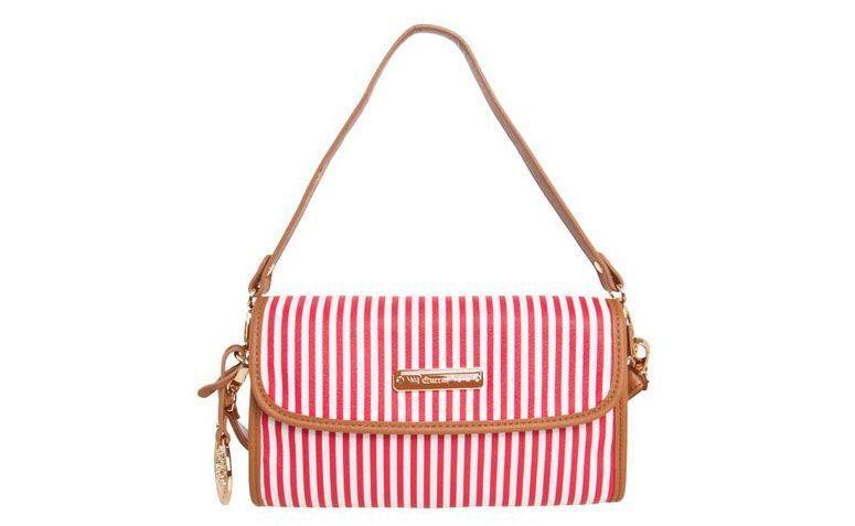 Bag red stripes Queens Paris for R $ 169.99 in Dafiti