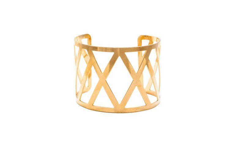 geometrisches durchgesickert Armband für $ 74.90 in Elo7