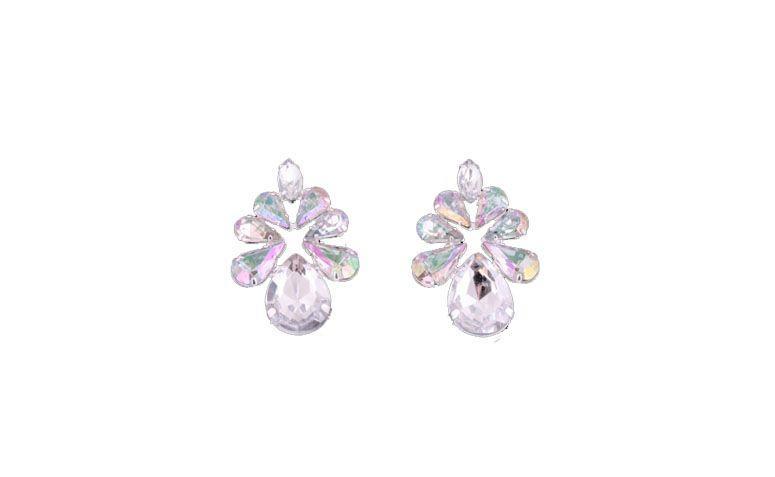 Durchschnittliche Ohrring, schillernde Kristalle für $ 82 in Boutique Ludora