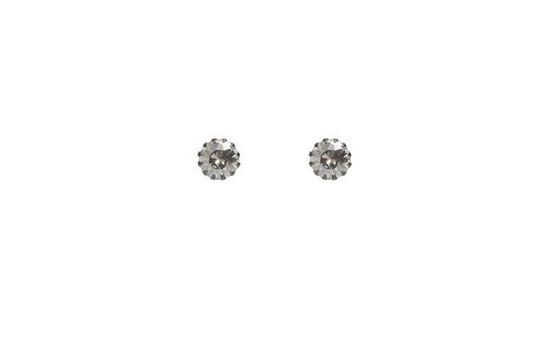 "Brinco ponto de luz com cristal Swarovski por R$39,90 na <a href=""http://www.lavalentina.com.br/prod/1609/brinco-pontinho-swarovski-jet"" target=""_blank"">La Valentina</a>"