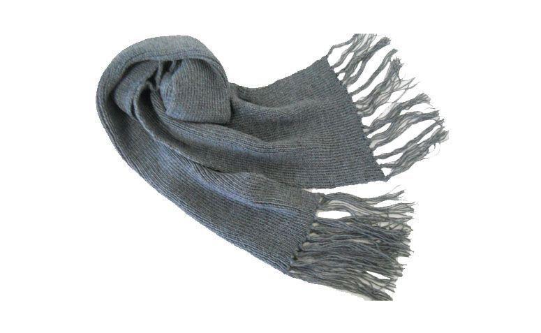 Flachstrick Schal für $ 25 in Elo7
