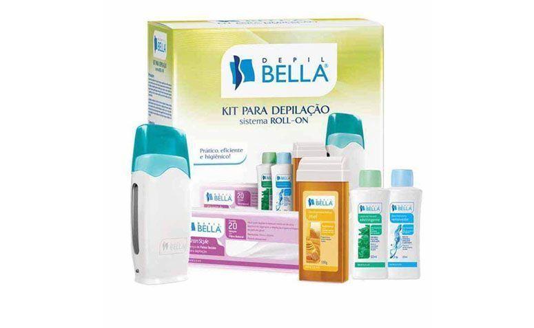 "Kit para depilação roll on Depil Bella por R$81,05 na <a href=""https://www.walmart.com.br/kit-depilacao-sistema-roll-on-depil-bellla/3209912/pr?utm_source=zanox&utm_medium=afiliados&utm_campaign=generica&zanpid=2035439420500714496"" target=""blank_"">Wallamart</a>"