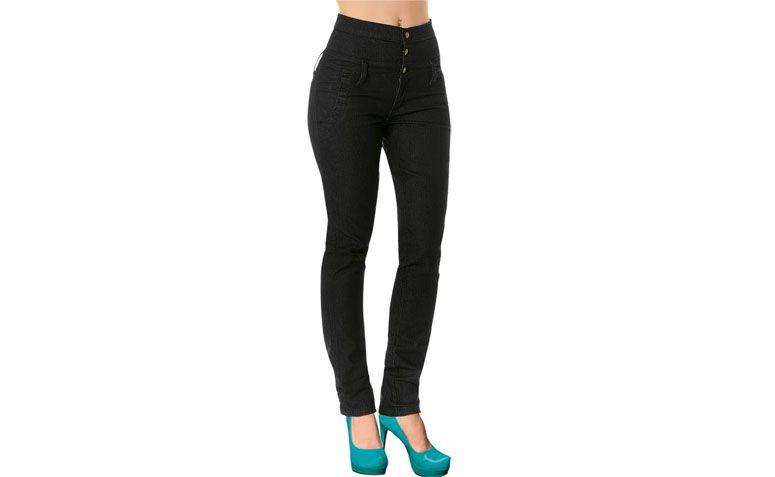 "Calça jeans escuro cintura alta por R$69,99 na <a href=""http://ad.zanox.com/ppc/?29470443C69044588&ULP=[[http://www.posthaus.com.br/moda/calca-jeans-escuro-cintura-alta_art120082.html?utm_source=zanox&utm_medium=afiliados&utm_campaign=deeplink]]"" target=""_blank"">Posthaus</a>"