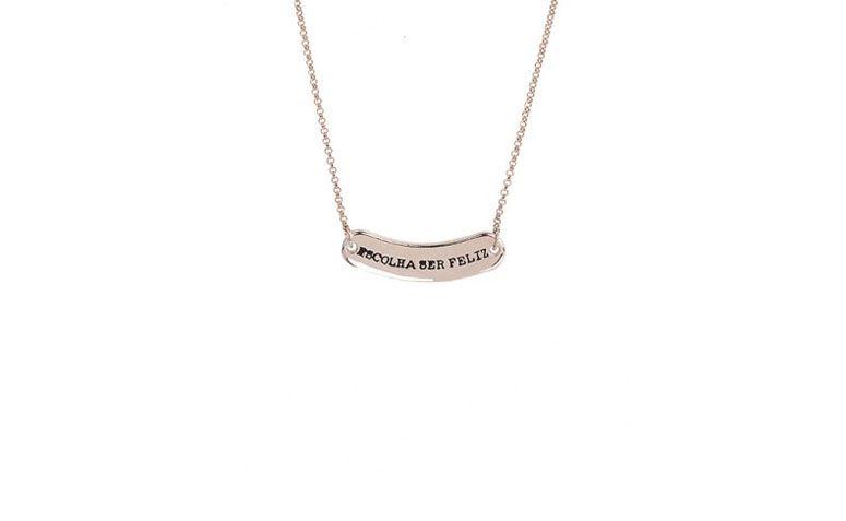Medium Halskette mit kleinen Schild Anhänger für $ 69.90 in My Gloss Zubehör