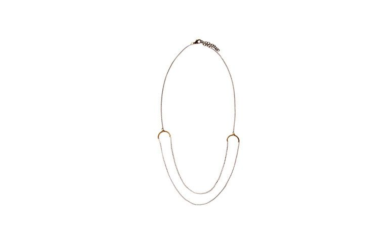 Halskette von mittlerer Länge und Doppelkette für $ 28 in Love Too