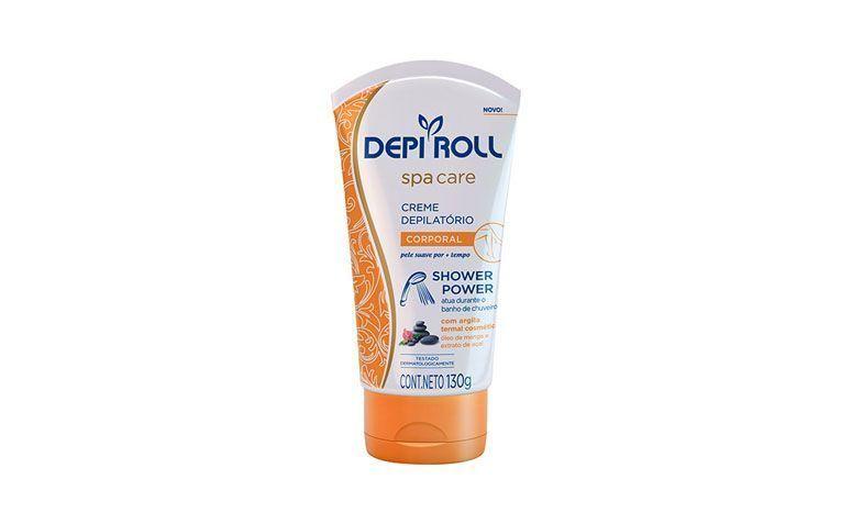 """Creme depilatório corporal Depi Roll por R$17,91 na <a href=""""http://ad.zanox.com/ppc/?29469028C38715453&ULP=[[http://www.americanas.com.br/produto/114190762/creme-spa-care-depilatorio-depi-roll-corporal-shower-power-130g?tkcampaing=c4d13ad4-52b6-4e21-b12e-0bae54bddbd5&tkurl=33ec14d3-8d74-44d5-9173-2ab4cac4720d&utm_source=Zanox&utm_medium=Afiliados&utm_campaign=custom_deeplink]]"""" target=""""blank_"""">Americanas</a>"""